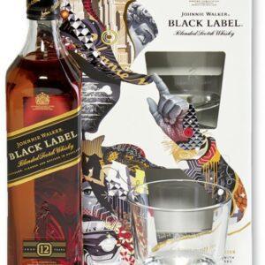 Jhonnie Walker Black c/2 Vasos
