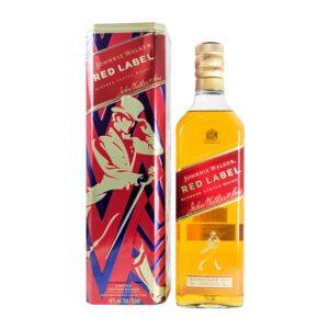 Jhonnie Walker Red Label Lata