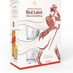 Red Label con Vasos