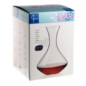 Decantador Vino Cristal Bohemia1500 Ml.