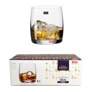 vaso whisky bohemia cristal 290